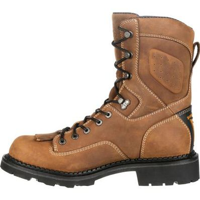 Georgia Boot Comfort Core Composite Toe Waterproof Logger Work Boot, , large