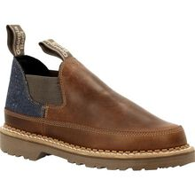 Georgia Boot Georgia Giant Women's Brown and Denim Romeo Shoe