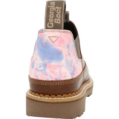 Georgia Boot Women's Brown and Cotton Candy Romeo Shoe, , large