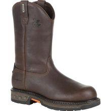 Georgia Boot Carbo-Tec LT Steel Toe Waterproof Pull-On Work Boot