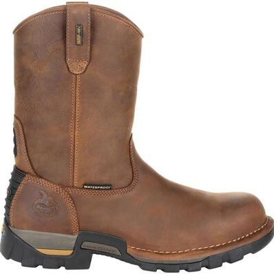Georgia Boot Eagle One Waterproof Pull On Work Boot, , large