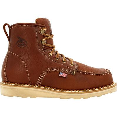 Georgia Boot USA Wedge Moc Toe Work Boot, , large