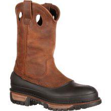 Georgia Boot Muddog Steel Toe Waterproof Wellington