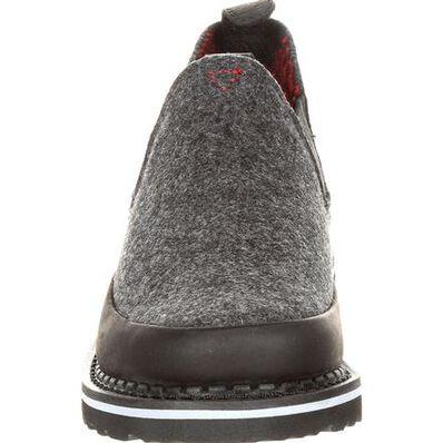 Georgia Giant Big Kid's Black and Charcoal Pendleton Romeo Shoe, , large