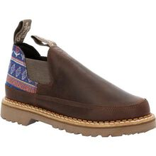 Georgia Boot Women's Brown and Blue Romeo Shoe