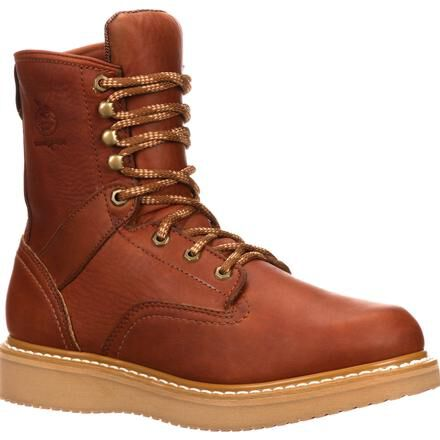 Work Boots with Wedge Sole, Georgia Boot