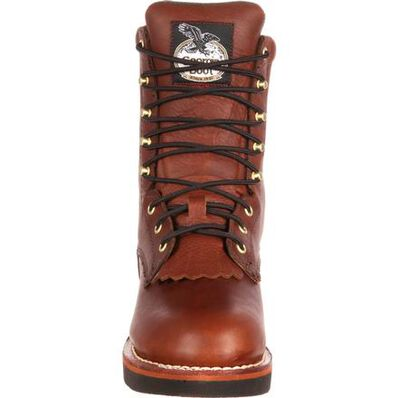 Georgia Boot Mens 8 Inches SPR Farm Ranch Lacer Work Boot-G7014
