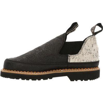 Georgia Boot Women's Black and Tweed Romeo Shoe, , large