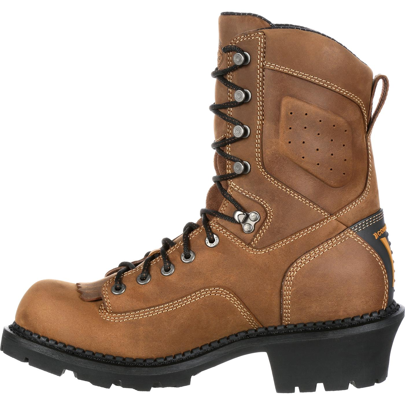 Georgia Boot Comfort Core Logger Waterproof Work Boots