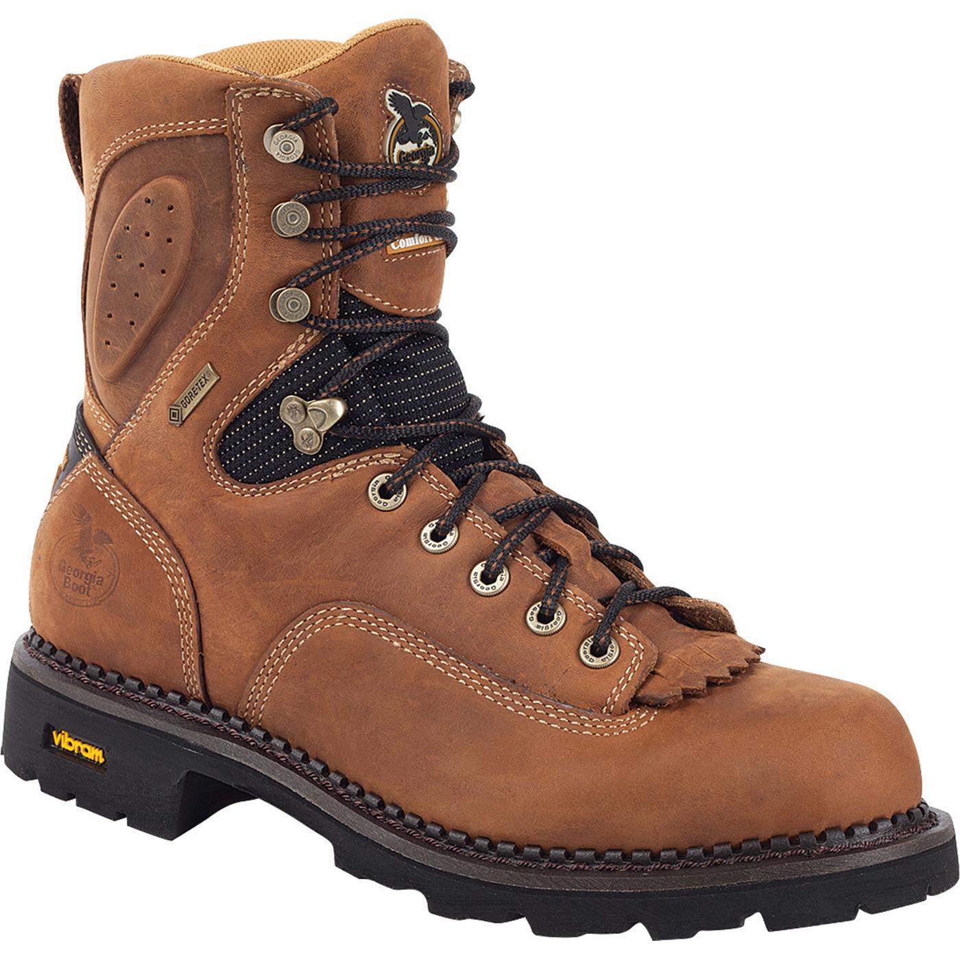 Georgia Gore Tex 174 Waterproof Comfort Core Low Heel Logger