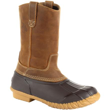 Georgia Boot Marshland Unisex Pull-On Duck Boot, , large