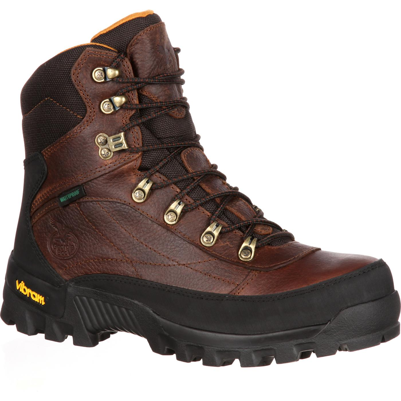 c93e93ff56ce98 Georgia Boot  Crossridge Waterproof Hiker Work Boot