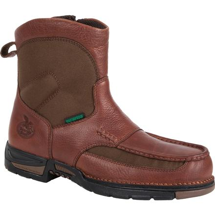 Georgia Boot Athens Waterproof Pull-On Work Boot, , large