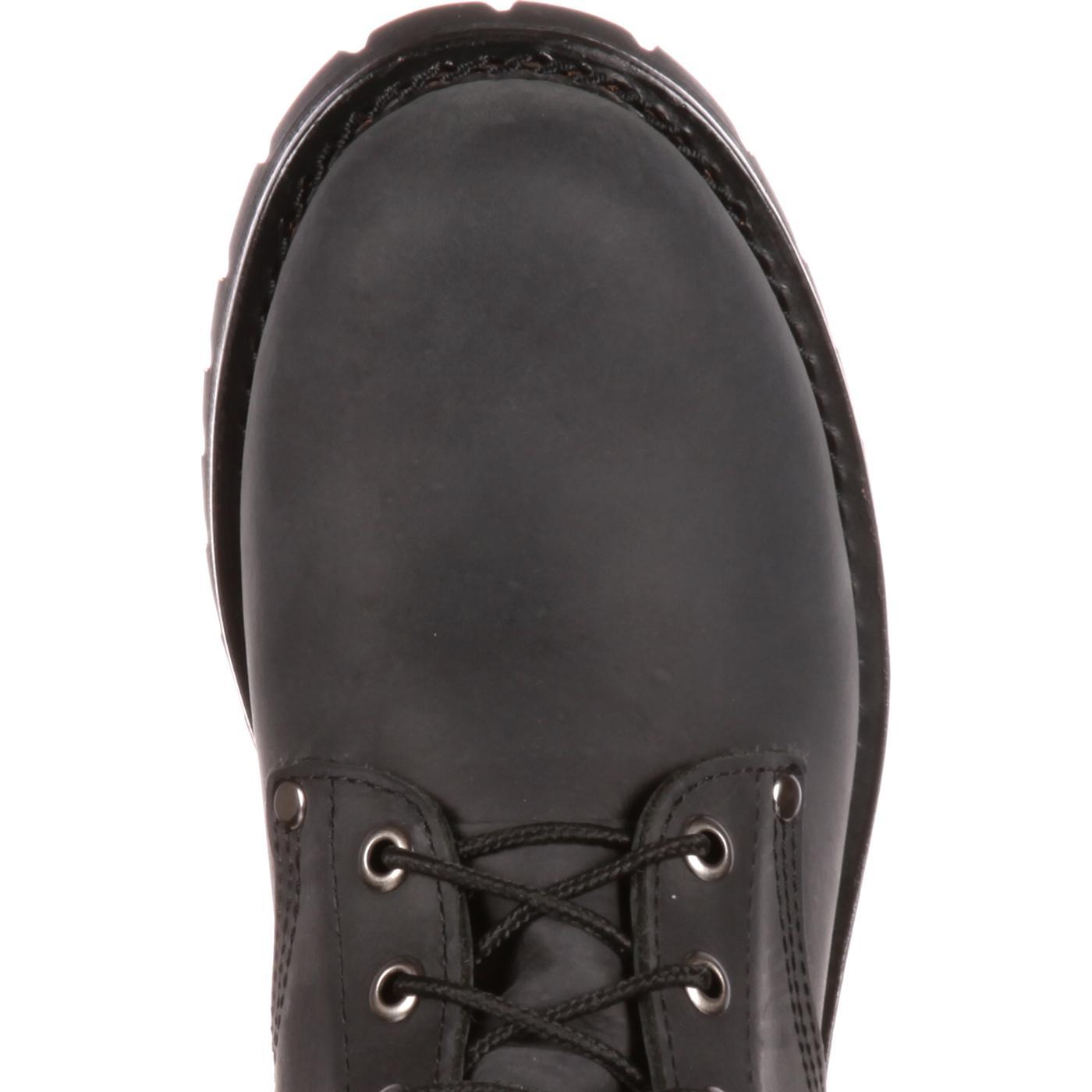 Georgia Boot Men s Black Logger Work Boot b5483f280