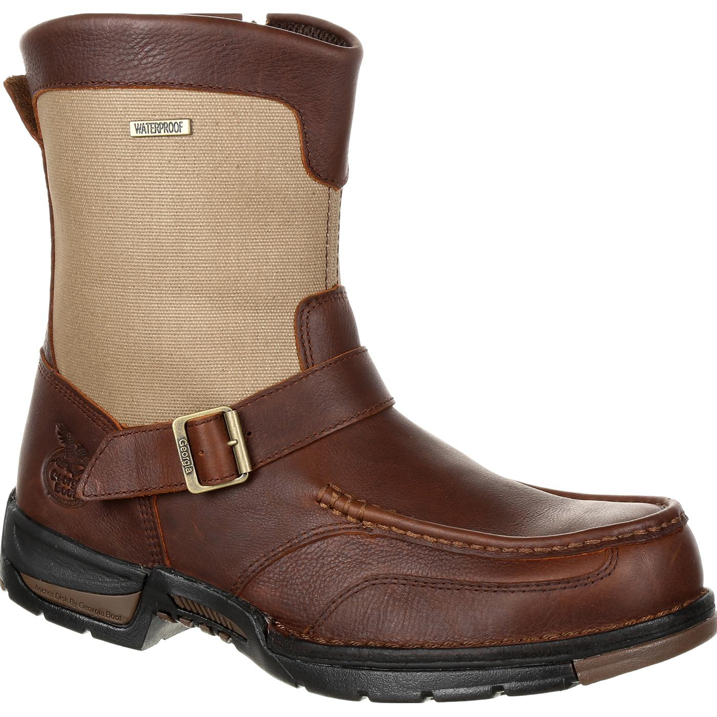 09bcd1bbdeb Georgia Boot Athens Waterproof Side-Zip Boot