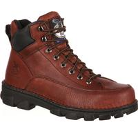 Georgia Boot Eagle Light Wide Load Steel Toe Work Hiker, , medium