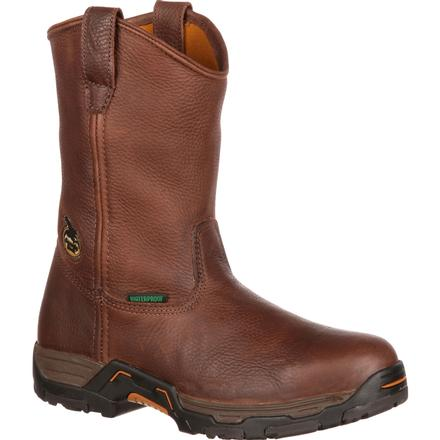 Georgia Diamond Trax Waterproof Wellington Boot, , large