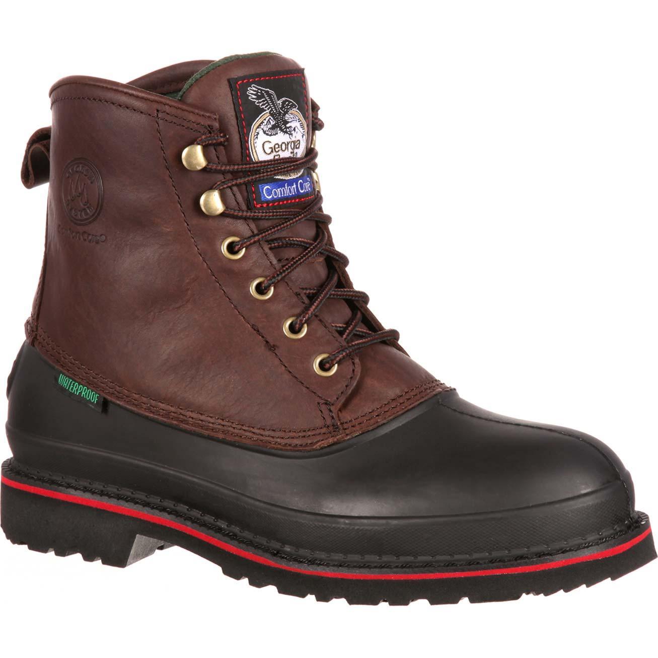 Georgia Muddog: Men's Waterproof Steel Toe Work Boots - Style #G6633