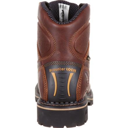 Georgia Boot Comfort Core Low Heel Logger Waterproof Composite Toe Work Boot, , large