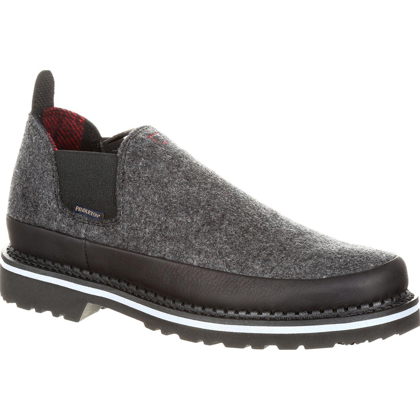 Georgia Giant Black And Charcoal Pendleton Romeo Shoe