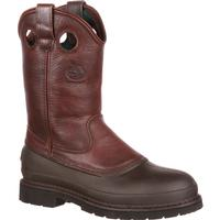 Georgia Boot Muddog Steel Toe Wellington Work Boot, , medium