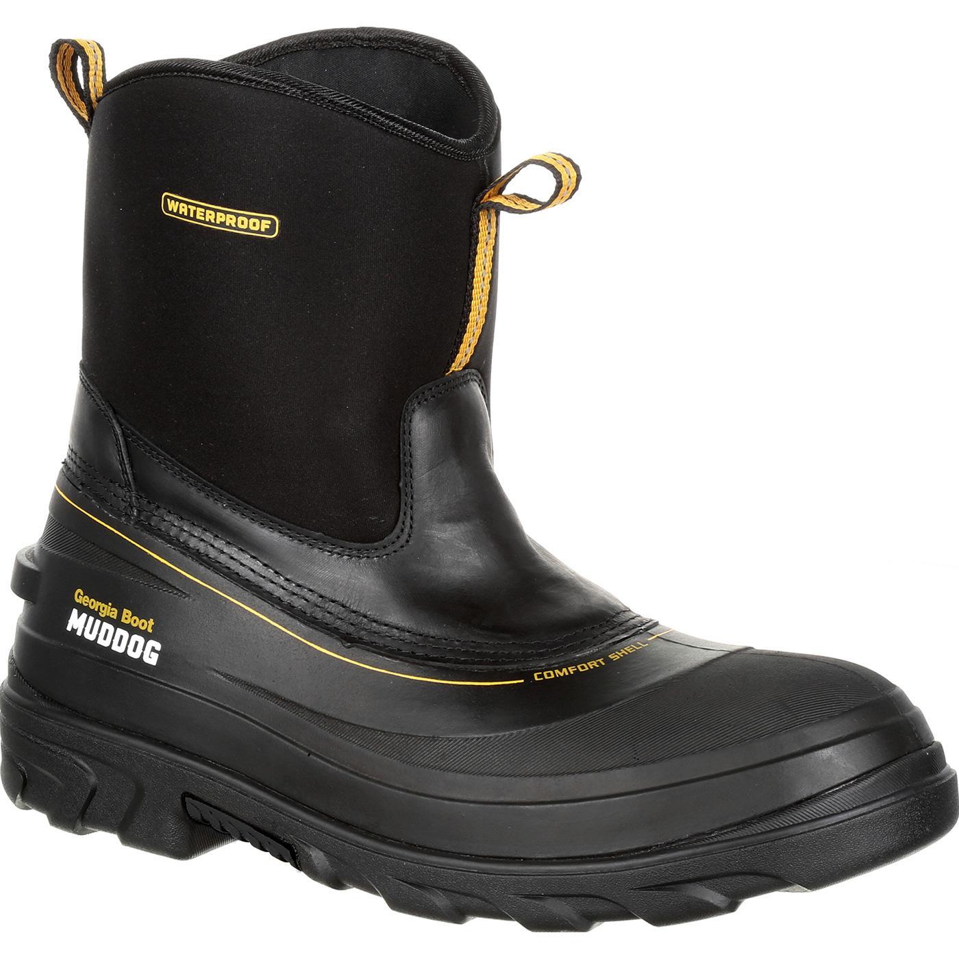 a5038e7bac5d Georgia Boot Muddog Waterproof Work Wellington. »
