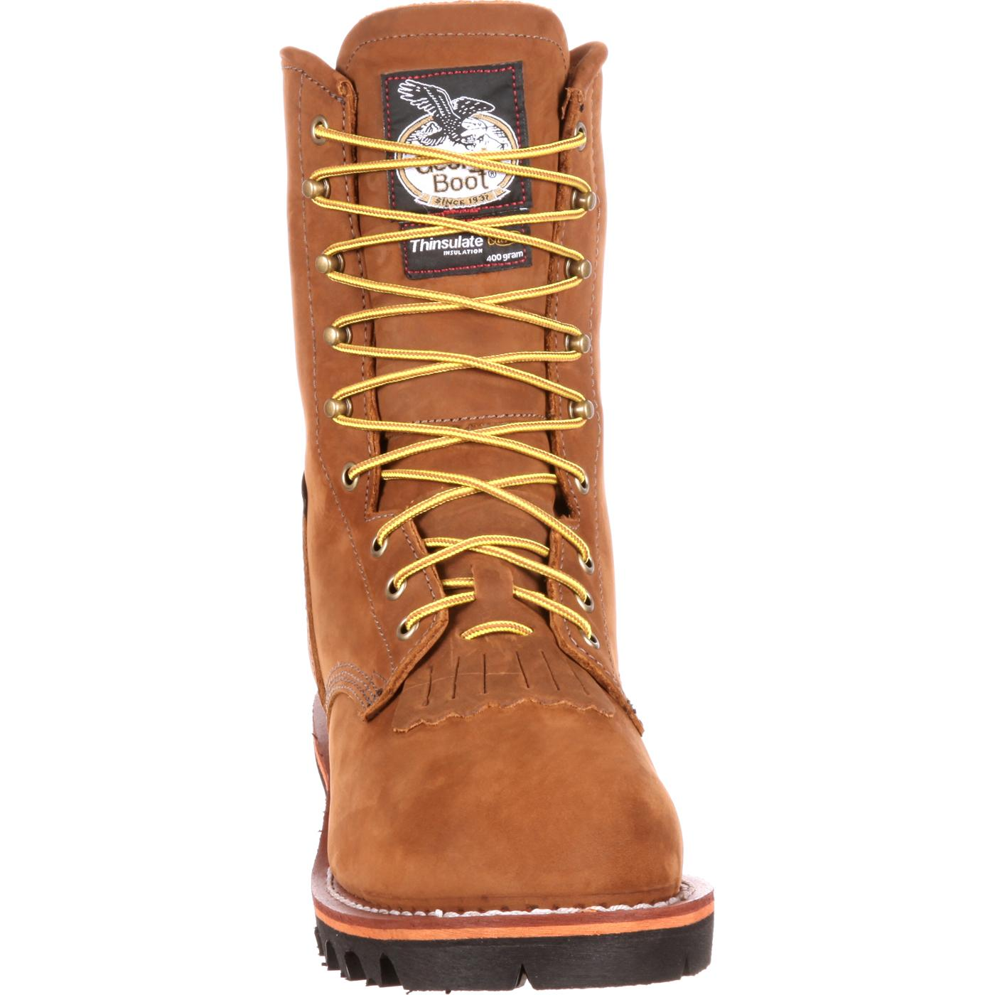 a438dca0ae8 Georgia Boot Steel Toe GORE-TEX® Waterproof Insulated Logger Boot