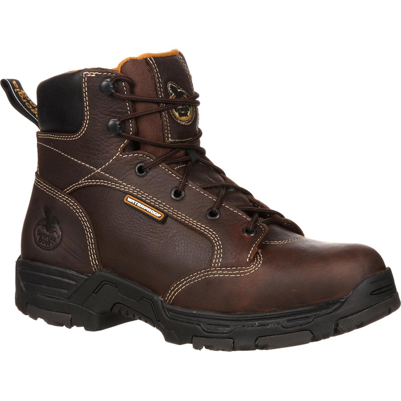 dd08c0f0769 Georgia Boot Diamond Trax Steel Toe Puncture-Resistant Waterproof Work Boot