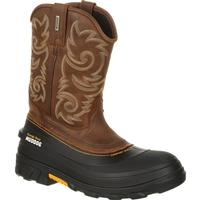 Georgia Boot Muddog Waterproof Western Work Wellington, , medium