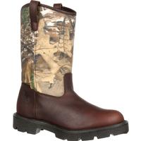 Georgia Boot Homeland Waterproof Wellington Work Boot, , medium