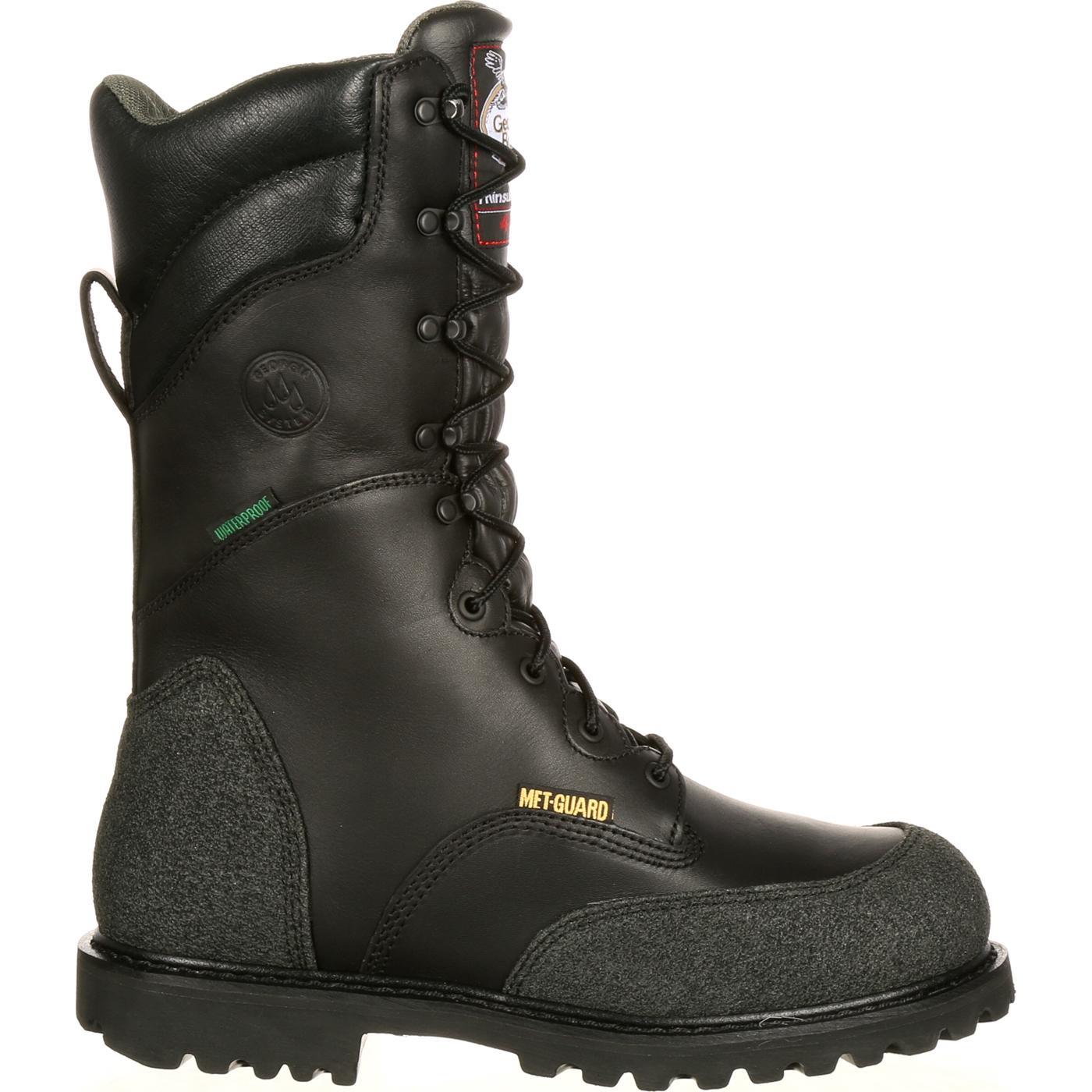 Georgia Met Guard Waterproof Insulated Miner Boot G9330