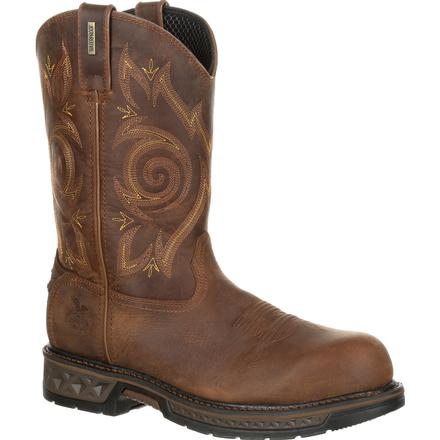 Georgia Boot Carbo-Tec LT Composite Toe Waterproof Work Wellington, , large