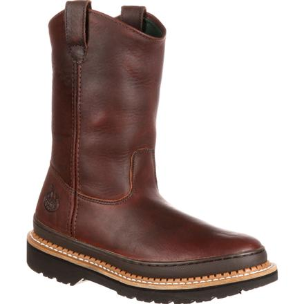 Georgia Giant Wellington Pull-On Work Boot, , large