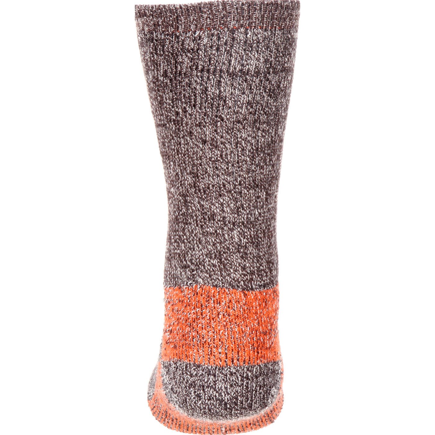 Georgia Boot Merino Lambs Wool Crew Sock, Mocha, small