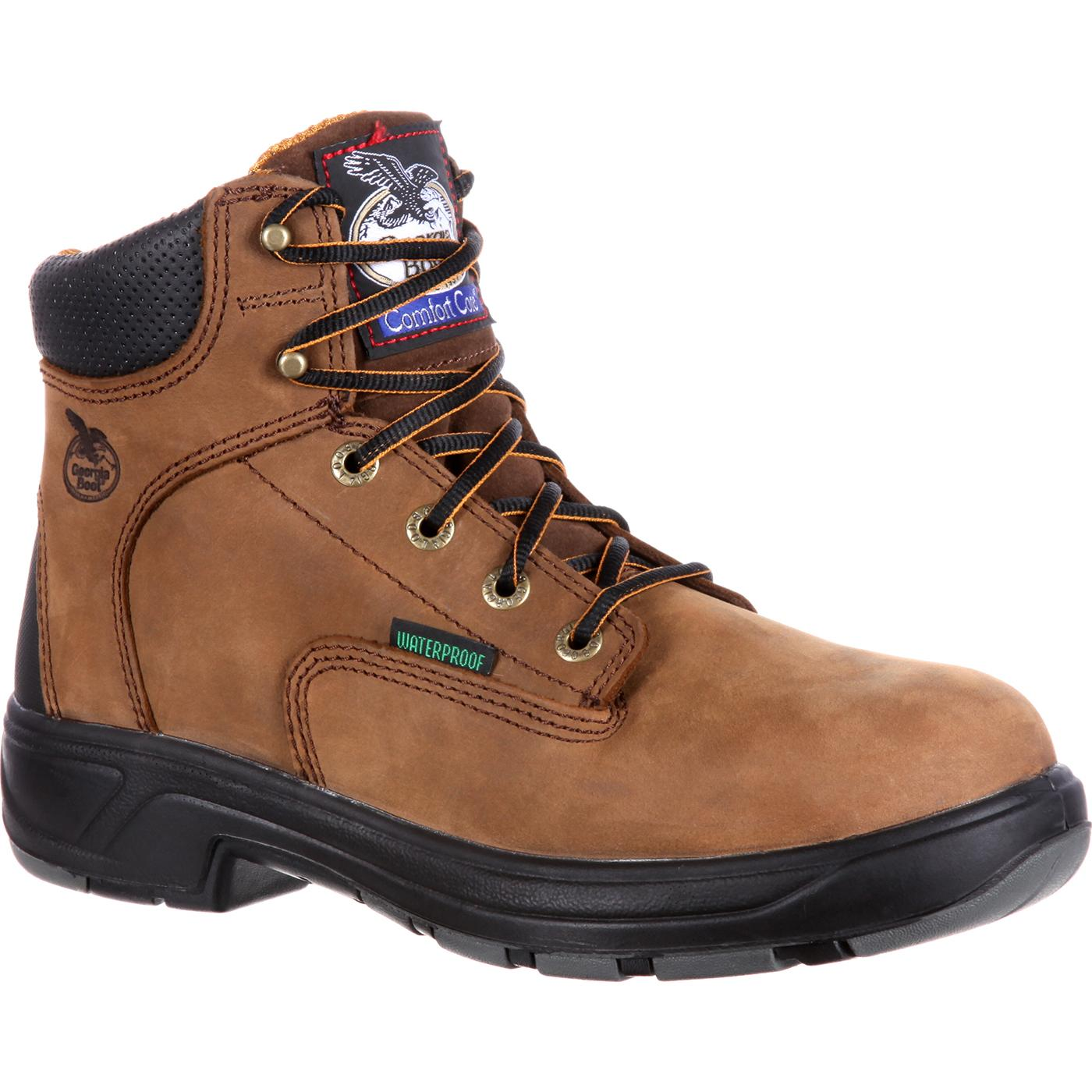 promo code a56dd 8d51a Georgia Boot FLXpoint Composite Toe Waterproof Work Boot, , large