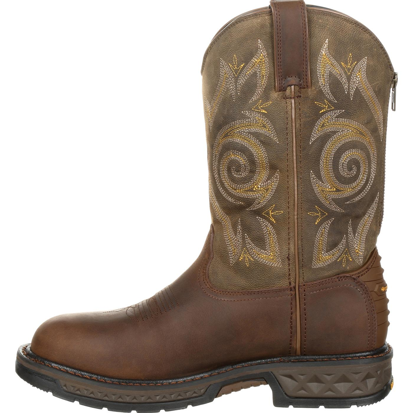 d2651903c52 Georgia Boot Carbo-Tec LT Pull-On Work Boot