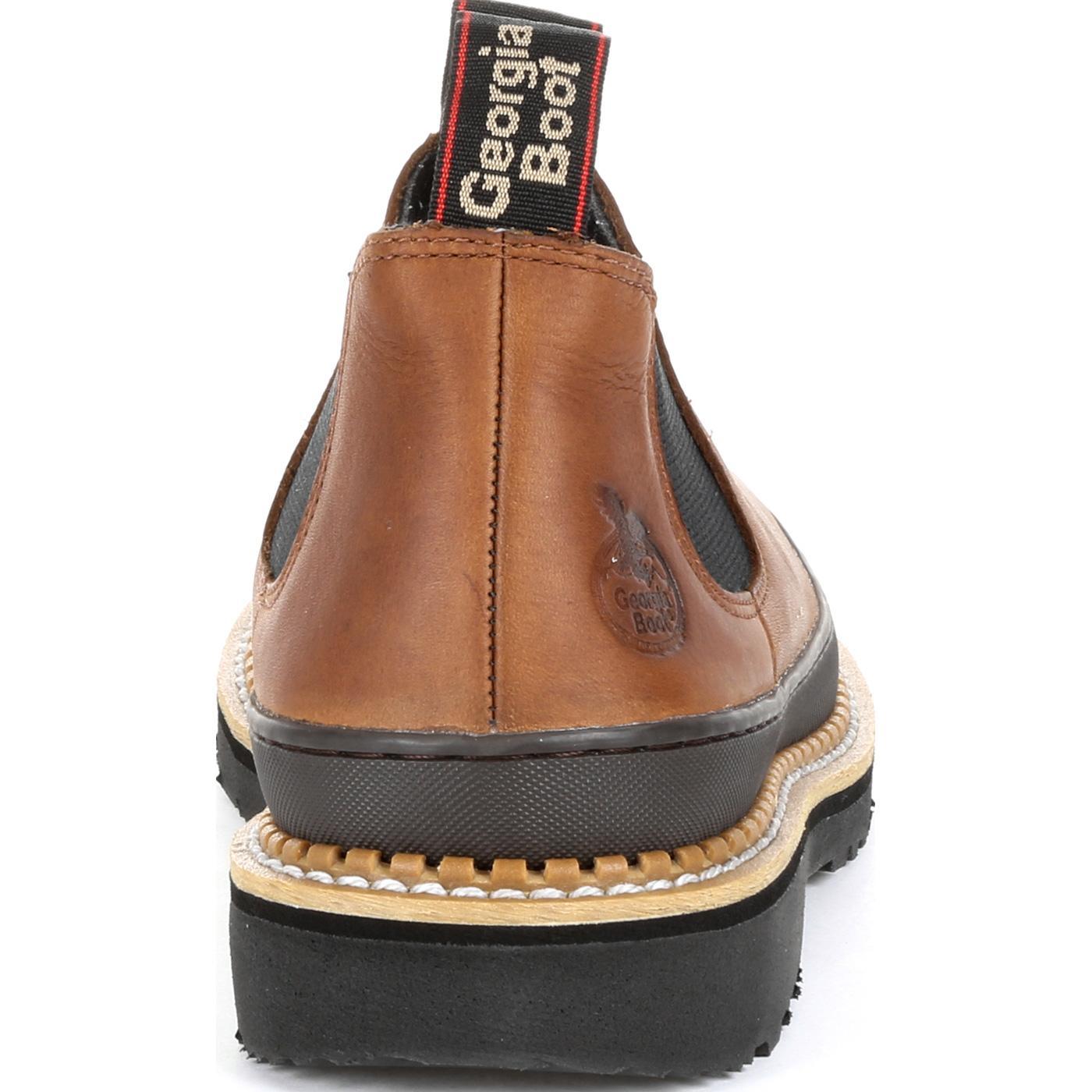 8e00dbaed03 Georgia Giant Revamp Steel Toe Romeo Work Shoe
