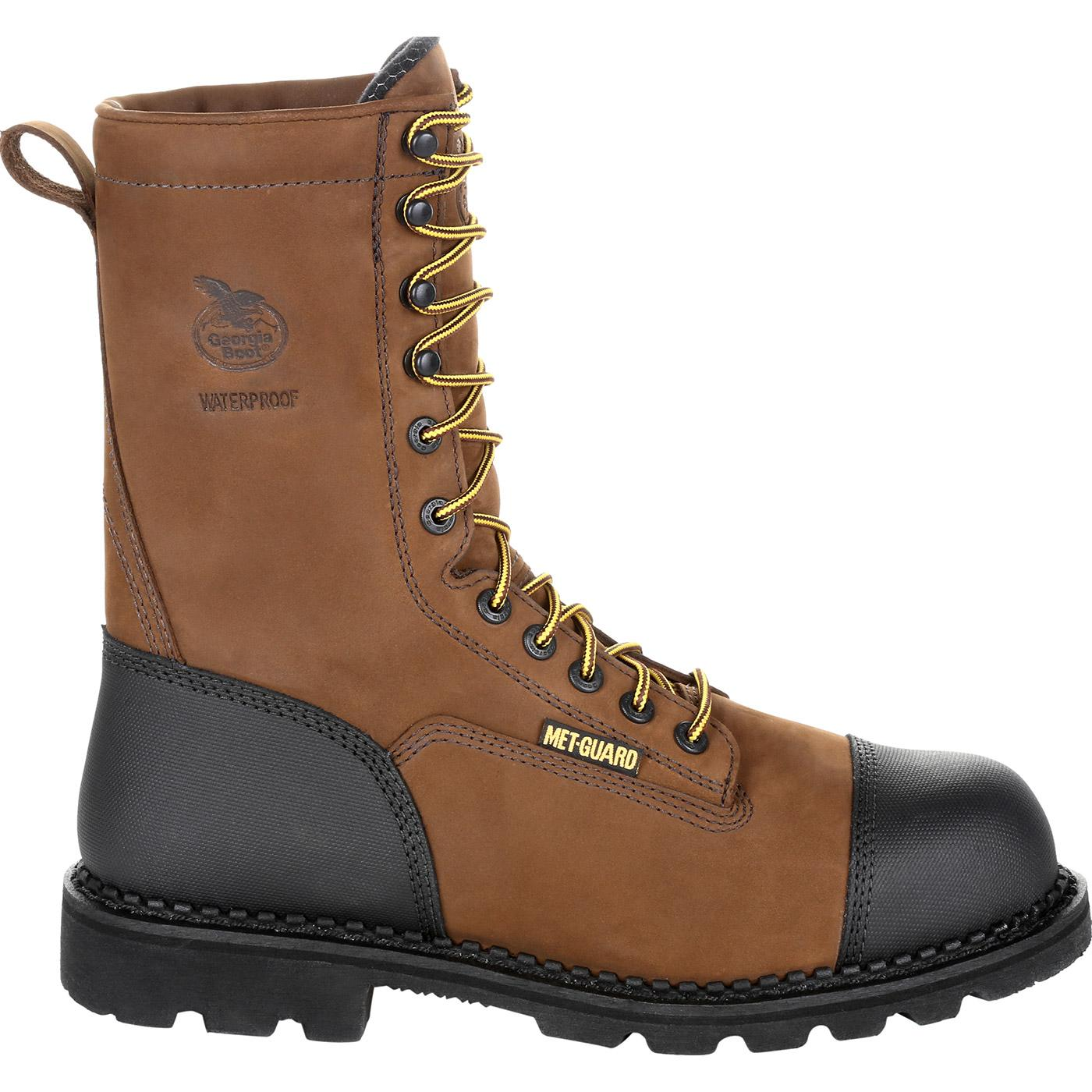 0c92bb2b92ca8e Georgia Boot Drill Dog Steel Toe Metatarsal Boot, #GB00323