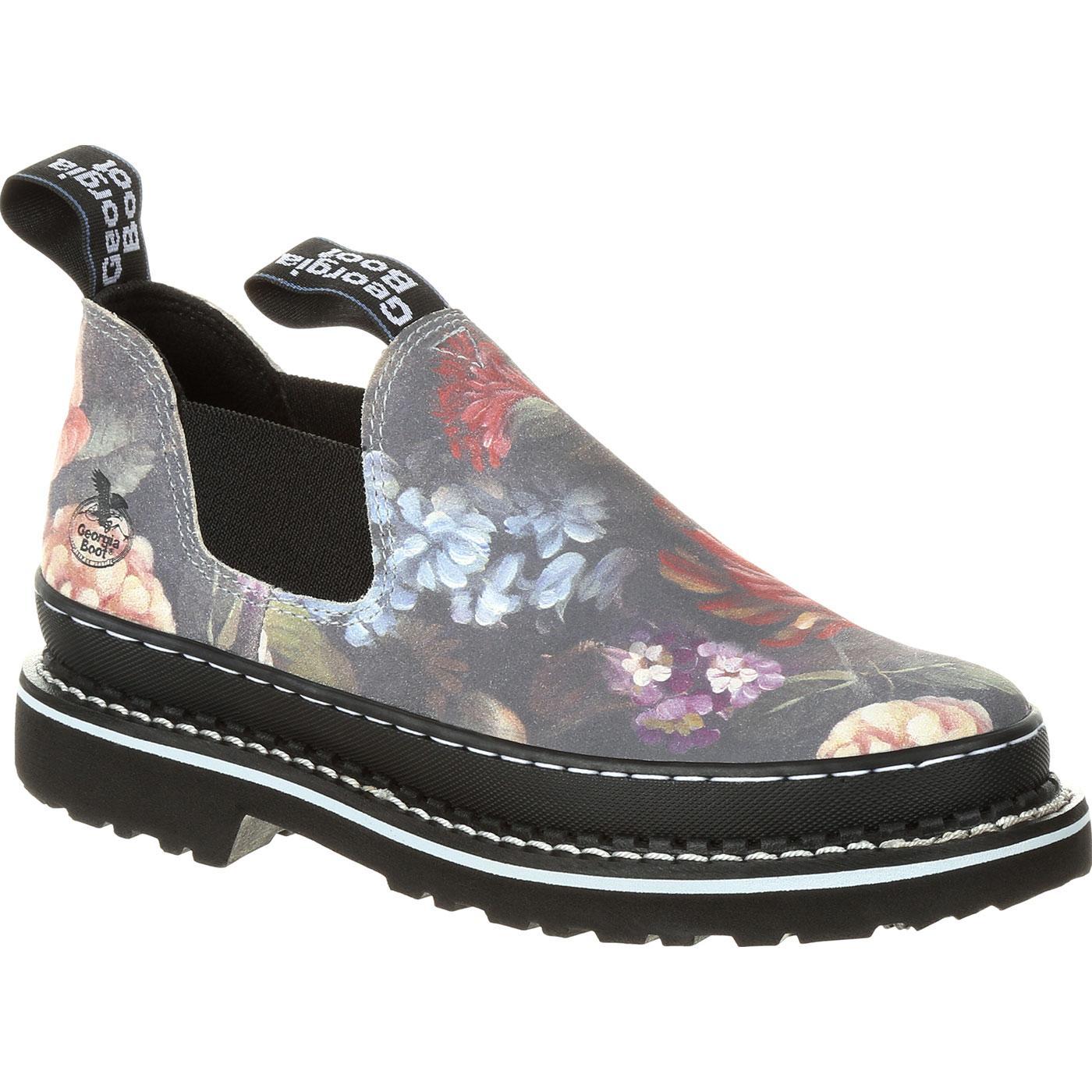 Georgia Boot Women's Floral Romeo Shoe, , large