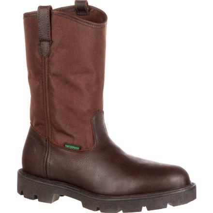 Georgia Boot Homeland Waterproof Wellington Work Boot