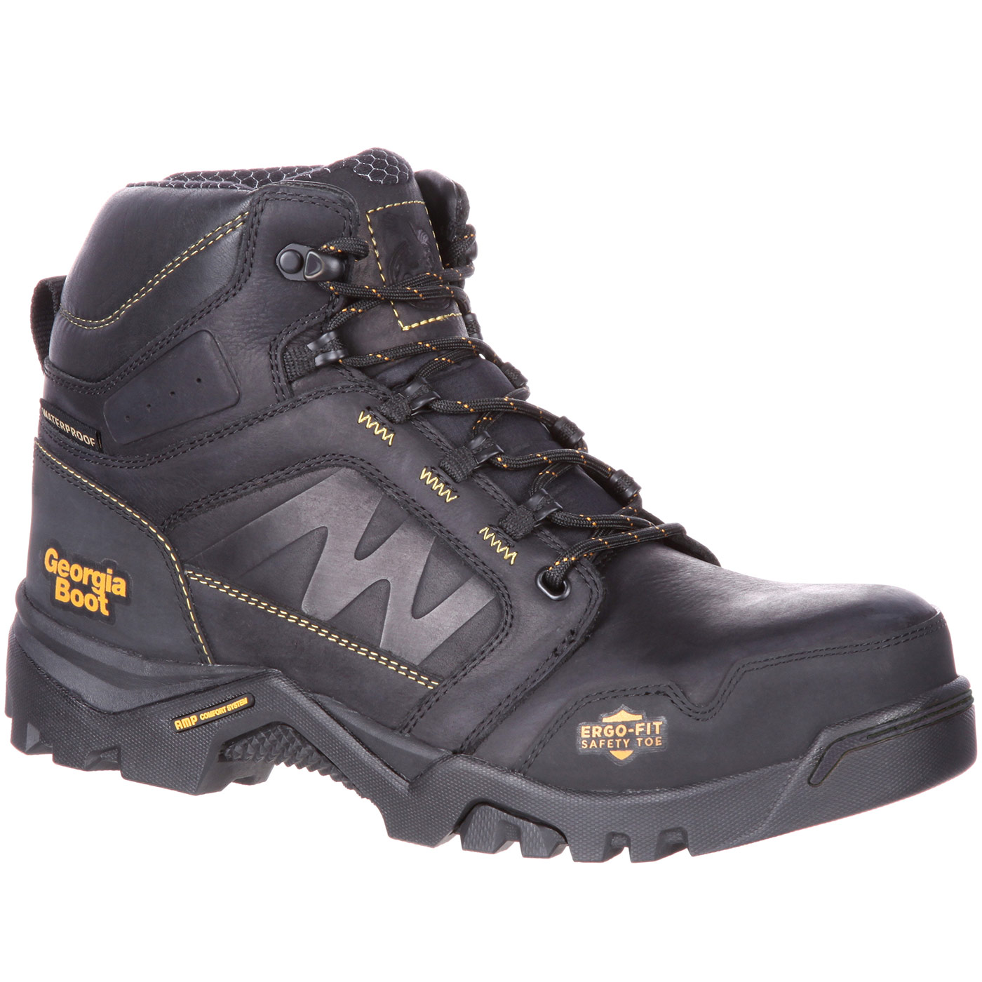 Georgia Boot Amplitude - Amplified comfort in a sporty hiker style ...
