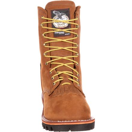 Georgia Boot Steel Toe GORE-TEX® Waterproof 400G Insulated Logger Boot, , large