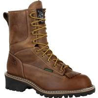 Georgia Boot Steel Toe Waterproof Logger Work Boot, , medium