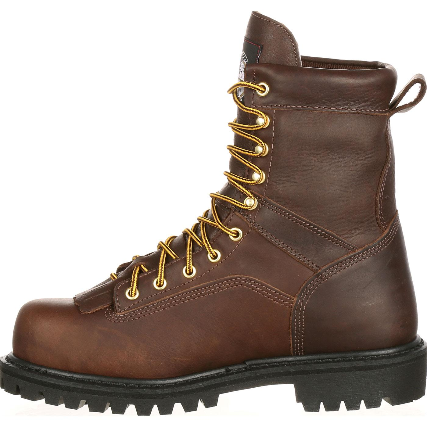 Georgia Boot Lace To Toe Waterproof Work Boot G8041