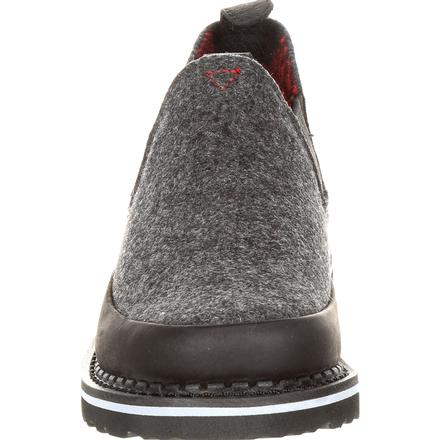 Georgia Giant Big Kid's Black and Charcoal Pendleton Romeo Shoe, , large