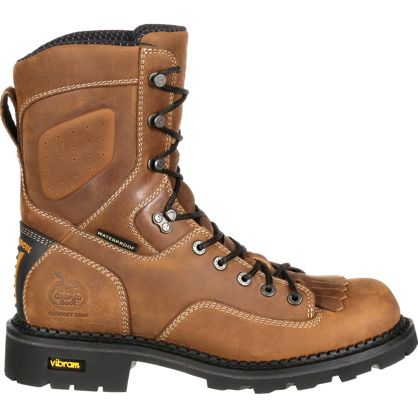 b0b87dc76d2 Georgia Boot Comfort Core Composite Toe Waterproof Logger Work Boot