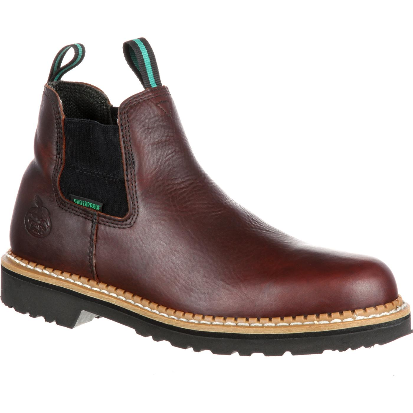 Georgia Boot Waterproof Steel Toe Romeo Boots, style #GR530