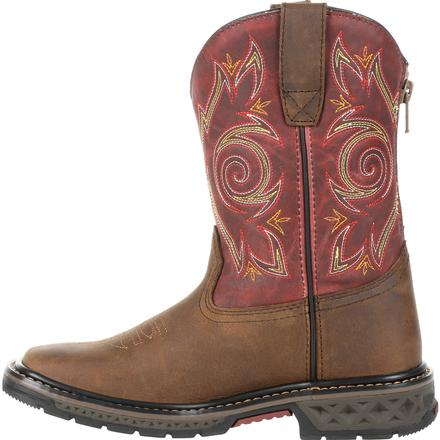 Georgia Boot Carbo-Tec LT Big Kids Pull-On Boot, , large
