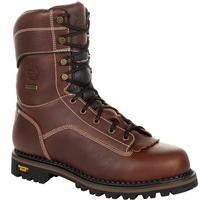 Georgia Boot AMP LT Logger Waterproof Insulated Work Boot, , medium