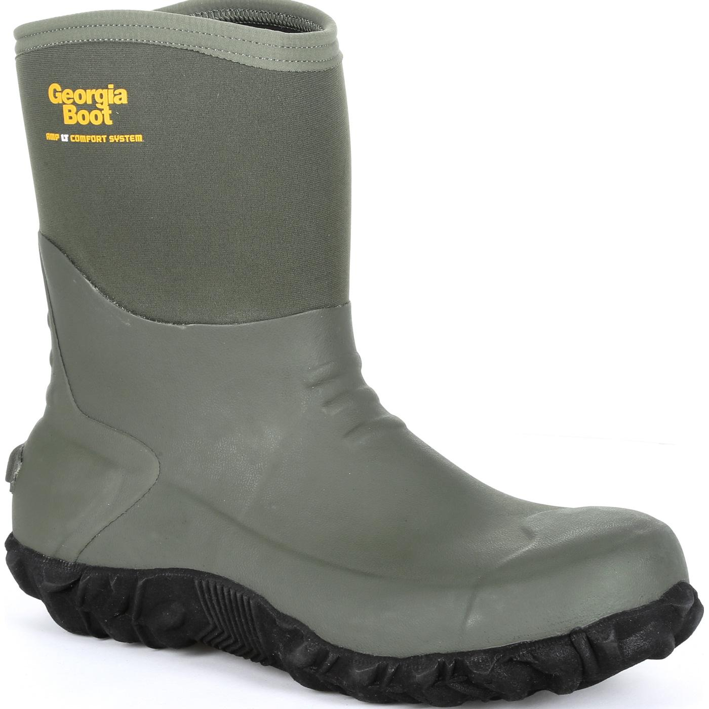 Georgia Boot Waterproof Mid Rubber Boot Gb00231